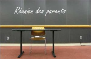 Réunion de parents CM