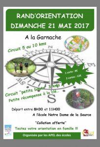 Rand'orientation @ Ecole Notre Dame de la Source   La Garnache   Pays de la Loire   France